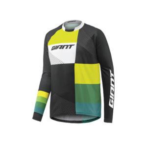 BRG850001689-تی شرت زیپ دار آستین بلند جاینت مدل Clutch LS Jersey