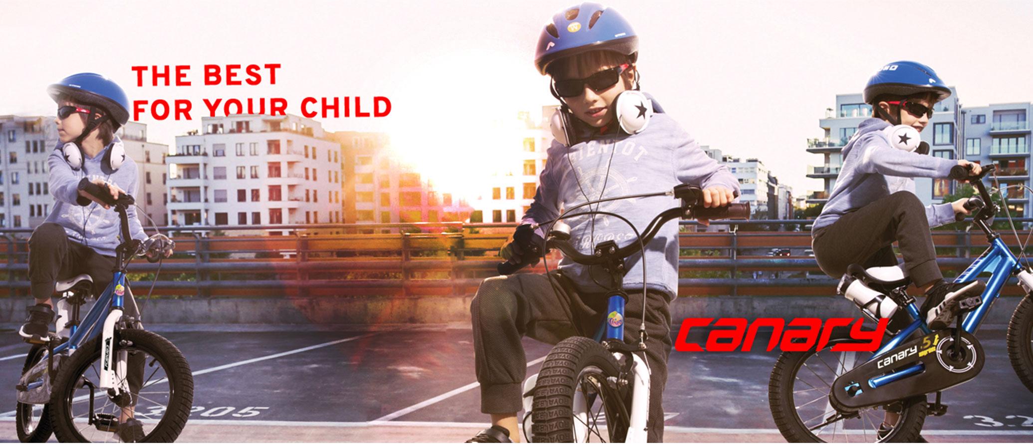 دوچرخه-بچه-گانه-قناری