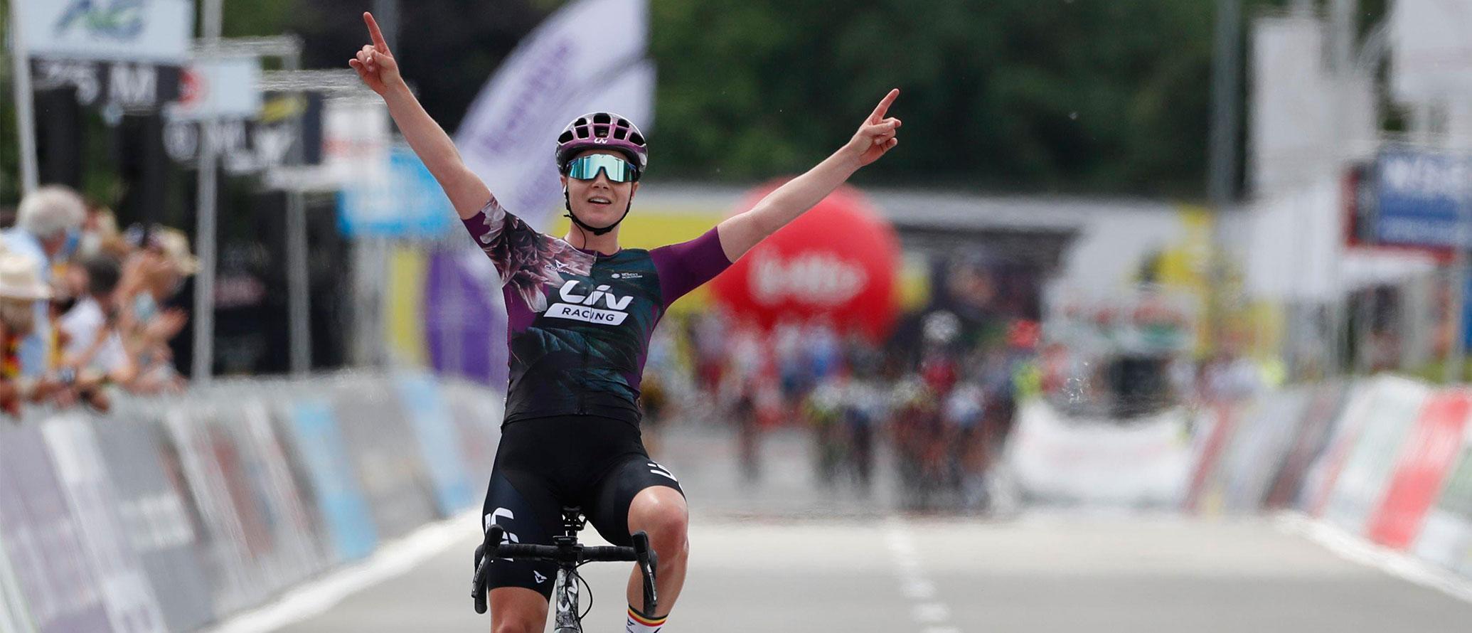 نتایج مسابقات قهرمانی ملی تیم دوچرخه سواری لیو